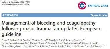 hémorragie,traumatologie