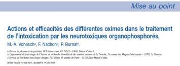 nrbc,organophosphorés